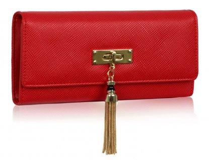 Dámská velká peněženka červená