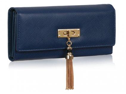 Dámská velká peněženka modrá