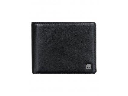 Pánská kožená peněženka Macking Quiksilver černá - Bagisimo