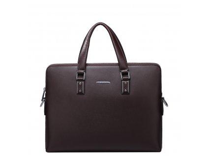 Pánská kožená taška na notebook Sammons Soft hnědá