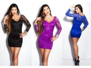 ... ANGEL BEAUTY - krajkové šaty, 8 barev, RYCHLÉ DODÁNÍ, S, M, L, XL