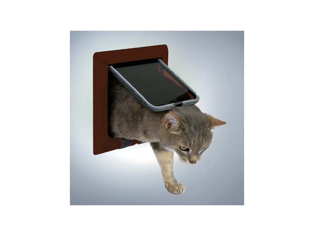 Дверца для кошек в дверь своими руками 9333