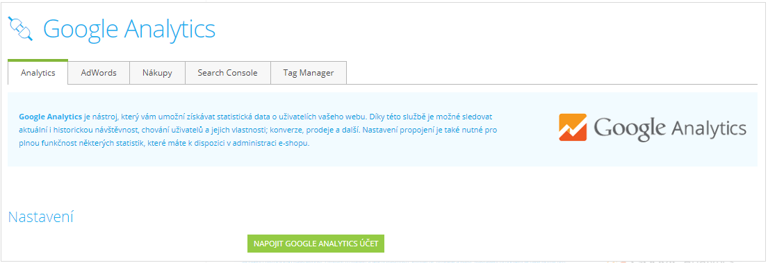 Google-analytics-shoptet