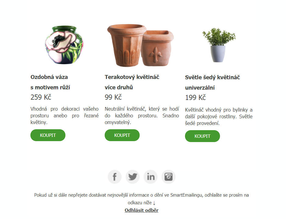 SmartEmailing_Produkty