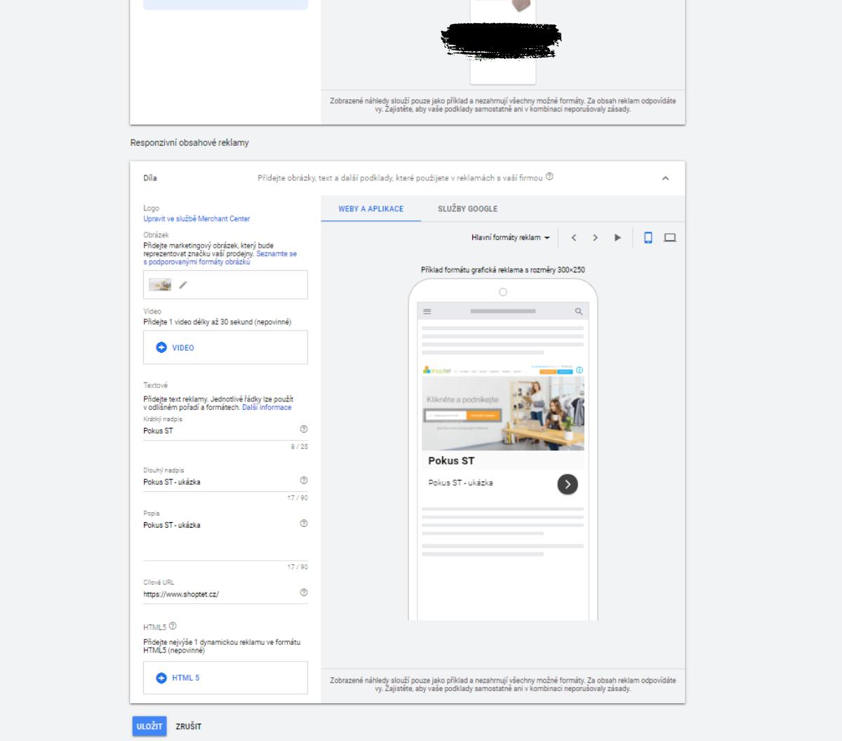 Nastavení reklamy na Googlu, Google nákupy, výkonnostní marketing, prodejní reklama, konverze.