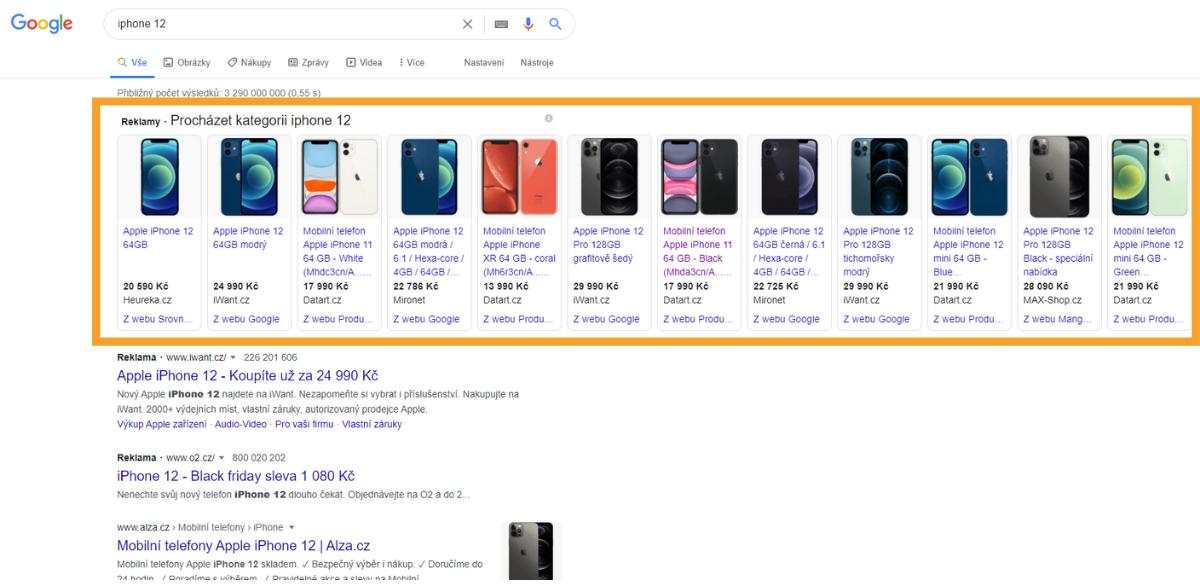 Nákupy Google, jak nastavit výkonnostní reklamu, online marketing, remarketing, chytré nákupy Google.