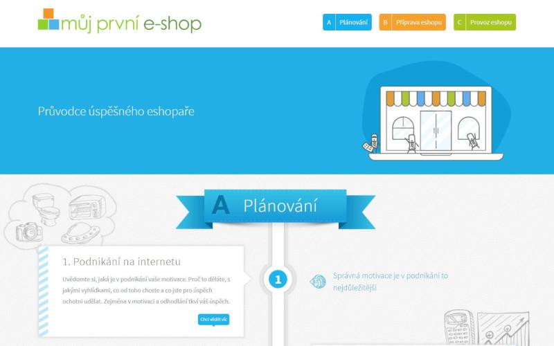 Můj první e-shop