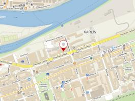 Mapa kanceláří