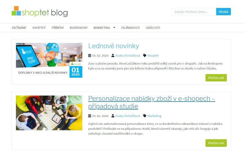Shoptet Blog