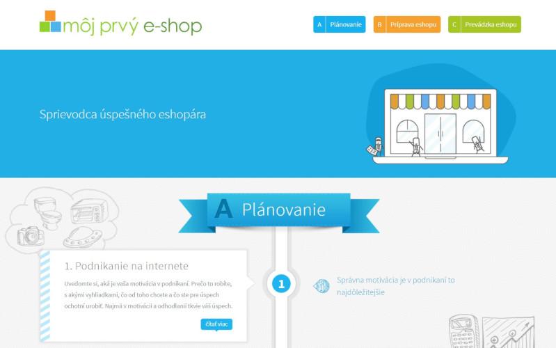 Môj prvý e-shop
