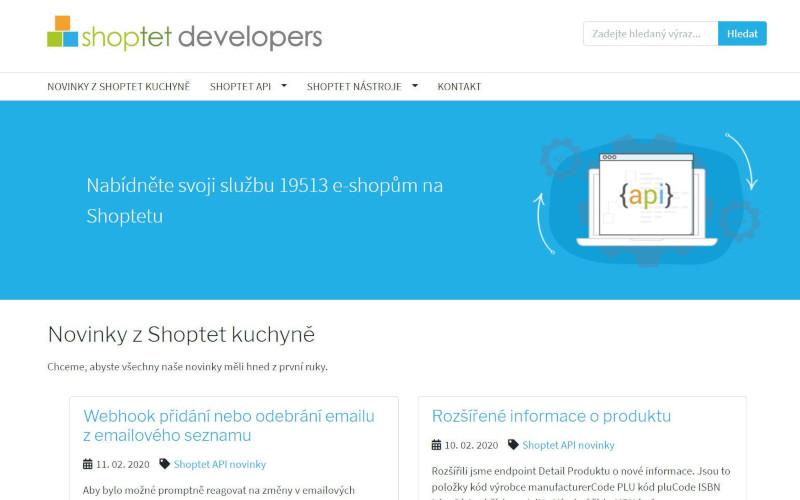 Shoptet Developers