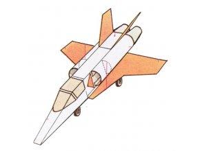 proudové letadlo