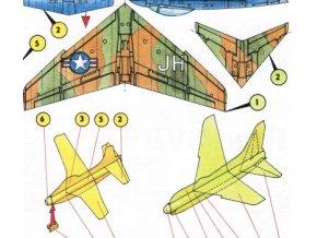North American FJ-1 Fury, Vought A-7D Corsair