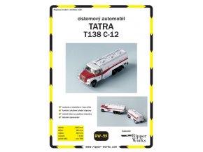 Tatra 138 PP4 - autocisterna C-12