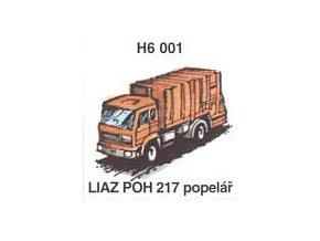 LIAZ POH 217 popelář (2ks)