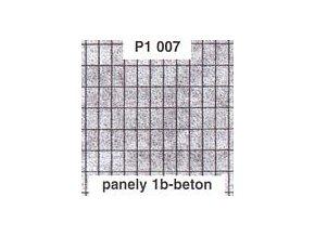 Panely 1b - beton