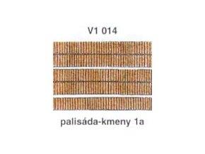 Palisáda - kmeny 1a