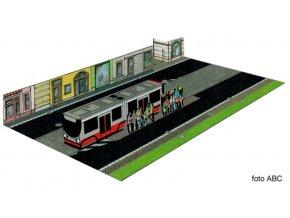 Bezpečně v silničním provozu 2 - tramvajová zastávka