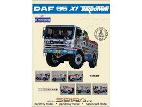 DAF 95 X1 TURBOTWIN - Dakar 1988 [600] + dezény kol