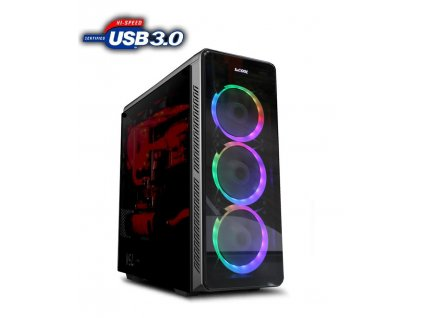 PC sestava AMD-Ryzen 9 3900X RAM 32GB DDR4, SSD 500GB , VGA GTX 1660 6GB DDR5