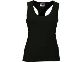 Dámské tričko US Army (Barvičkaa černá, Velikost XS, Varianta potisku varianta 10_na tmavý textil (suzuki SV - méně je více))