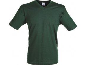 pánské tričko do V (Barvičkaa žlutá, Velikost XS, Varianta potisku varianta 12_výšivka (záda SV - SV web))