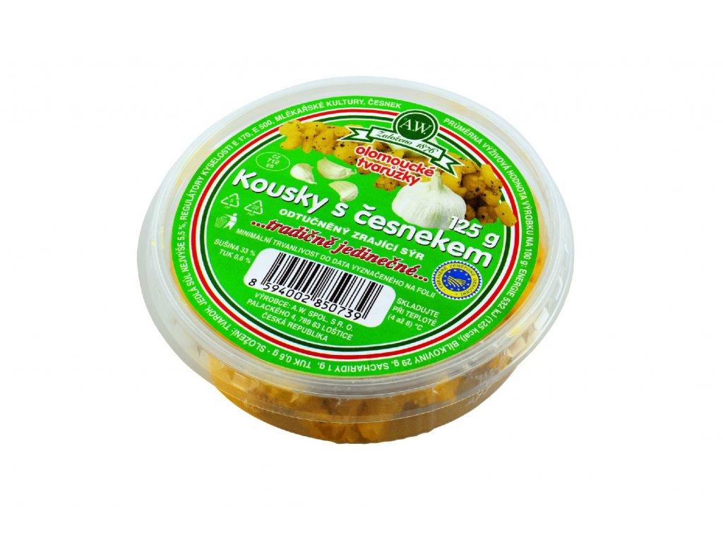 Kousky s česnekem 125 g