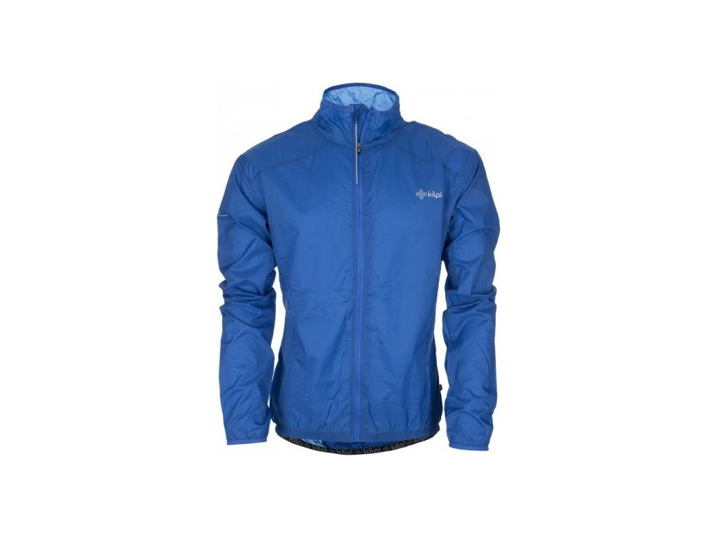 Pánská lehká bunda KILPI JACK modrá - Envyeshop.com 6a263f88db