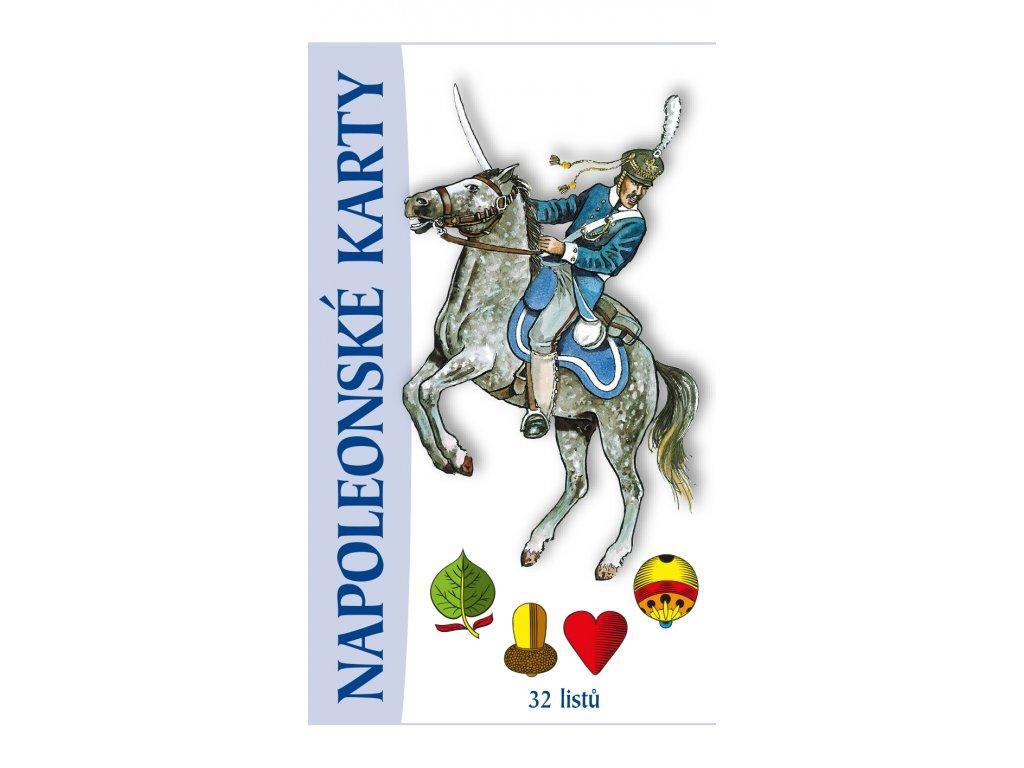 napoleonské karty krabička