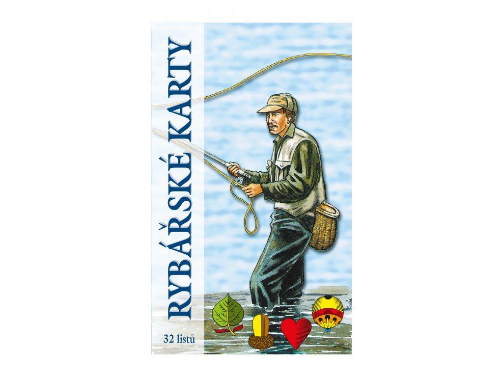 rybářské karty krabicka