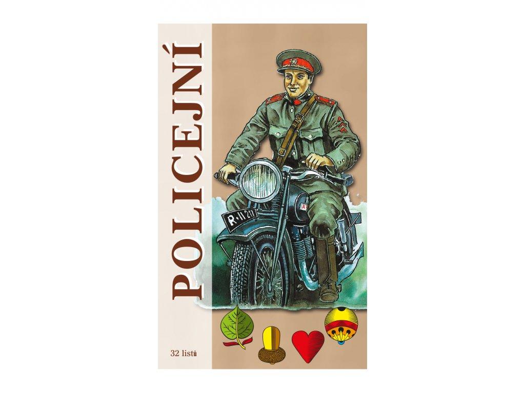 Policejní karty krabicka