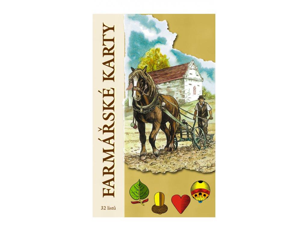 Farmářské karty krabicka