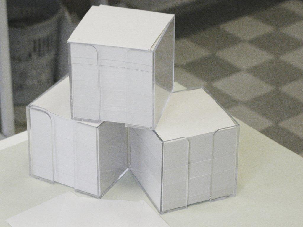 Krabička malá - včetně náplně, 100x100x55