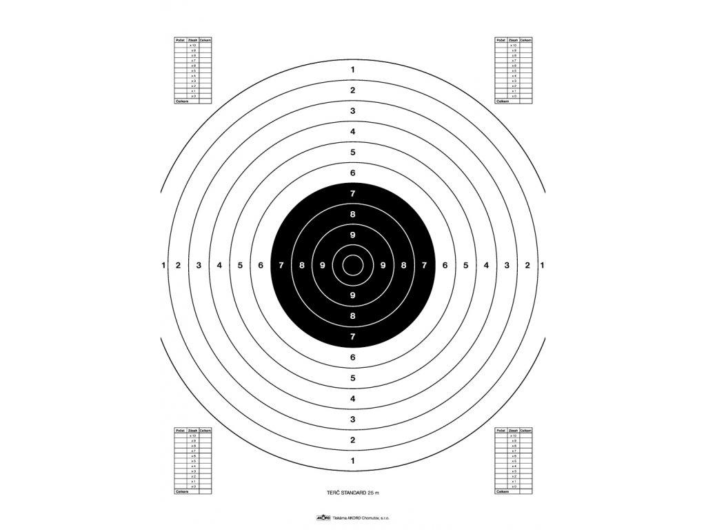 527 standard 25 m