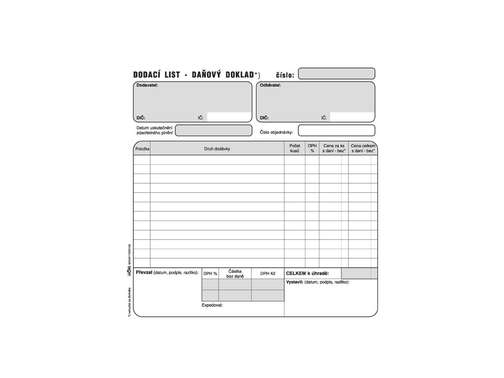 015 Dodací list daň. dokl. 2 3A4