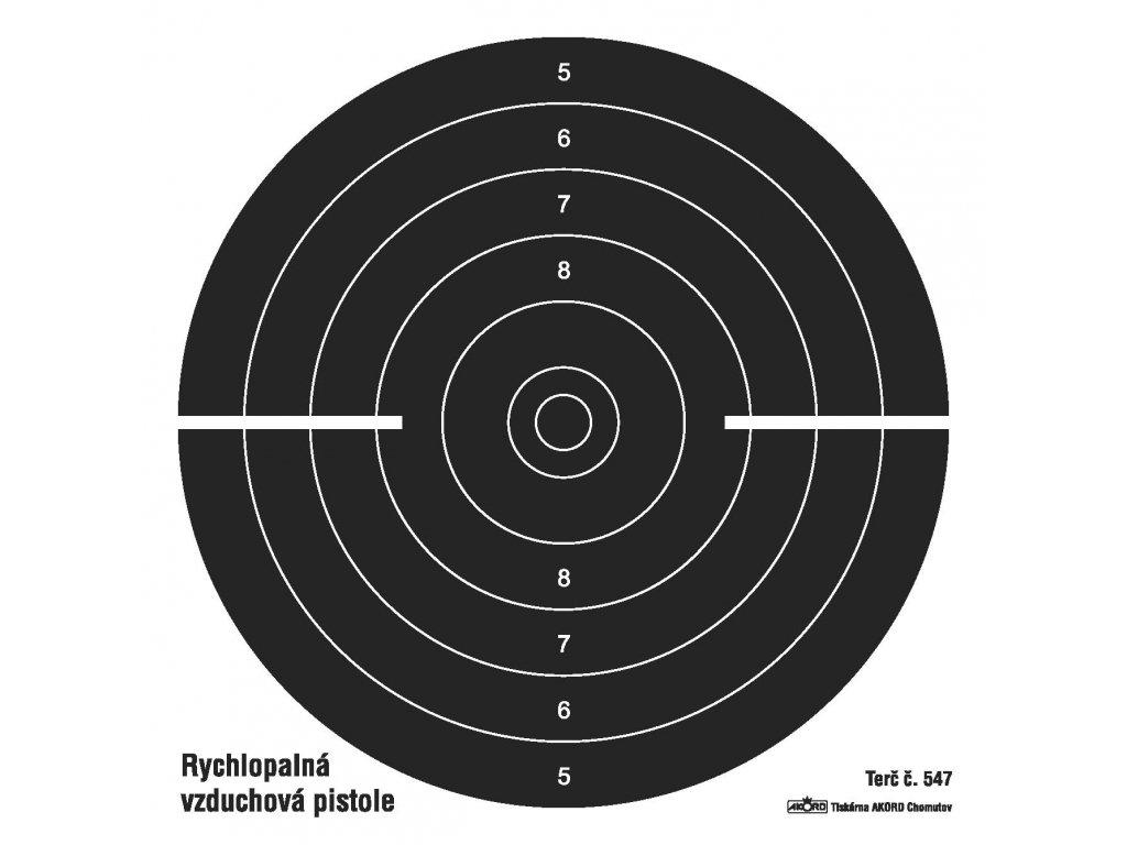 547 Rychlopalná vzduchová pistole