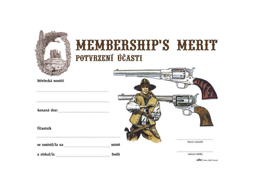 Membership's merit
