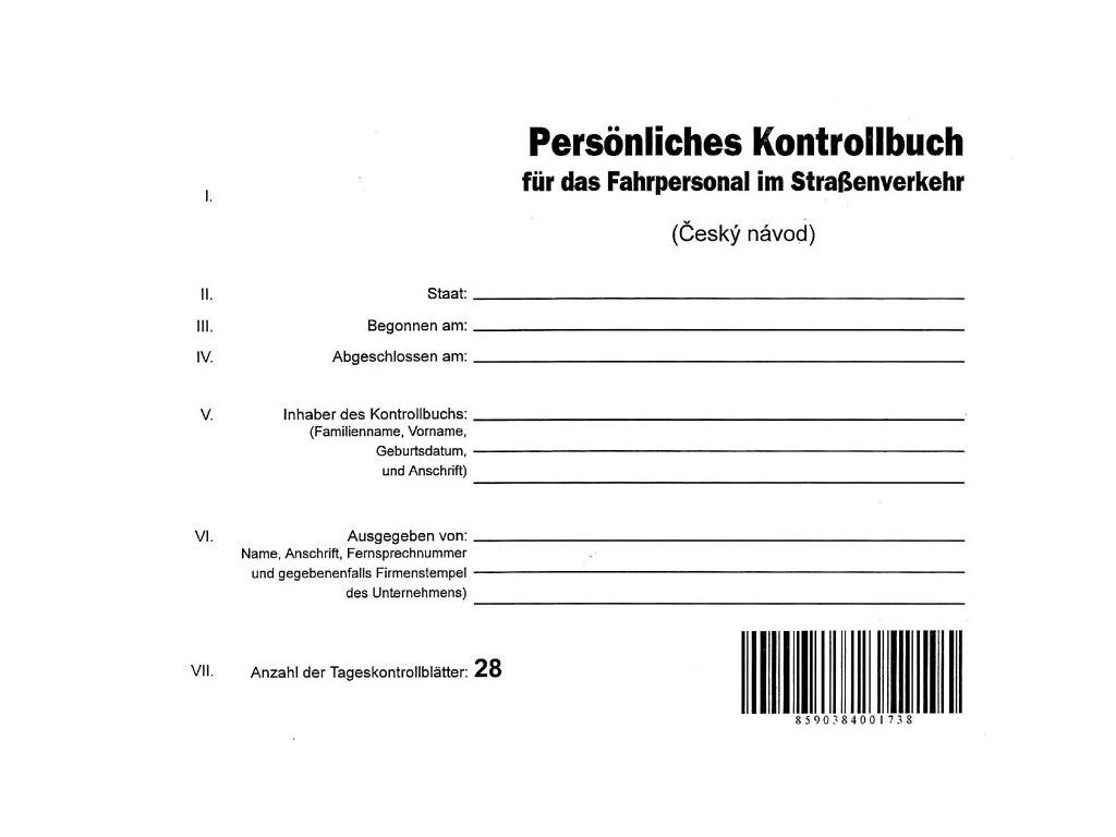 1032 Kontrollbuch 1