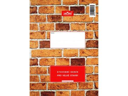 153 Stavební deník pro velké stavby