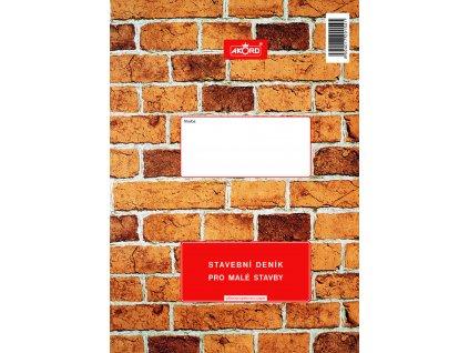 154 Stavební deník pro malé stavby
