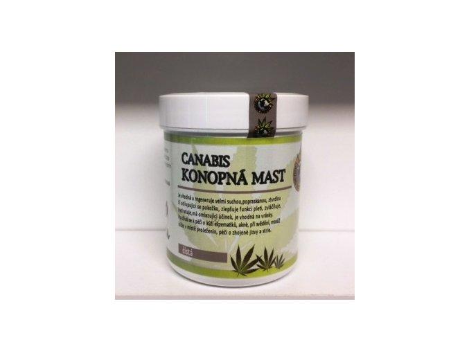 Canabis-Konopná mast čistá 125ml