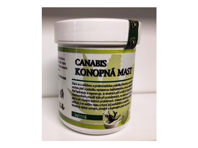 Canabis-Konopná mast bylinná 60ml