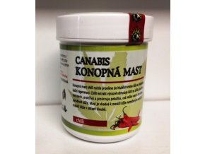 Konopná mast chilli 60ml