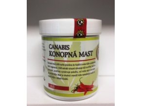 Canabis-Konopná mast chilli 125ml