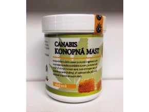 Canabis-Konopná mast včelí vosk 60ml