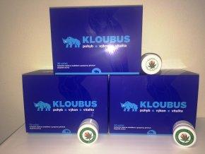 3x Kloubus+3x Konopná mast 5ml