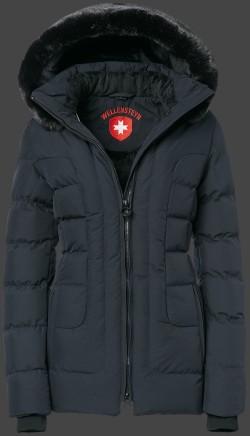 Čierna prešívaná zimná bunda dámska Wellensteyn Belvedere Medium