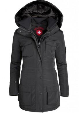 Čierna ľahká dámska zimná bunda Wellensteyn Schneezauber