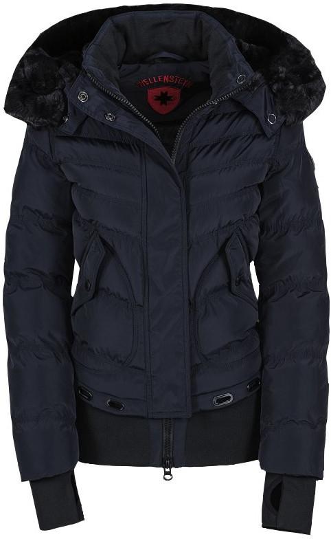 Tmavá modrá dámska bunda na zimu, tmavá modrá, Wellensteyn Queens
