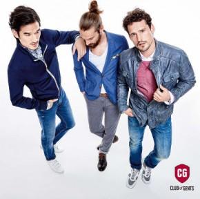 Club of Gents - trojfarebné pánske oblečenie